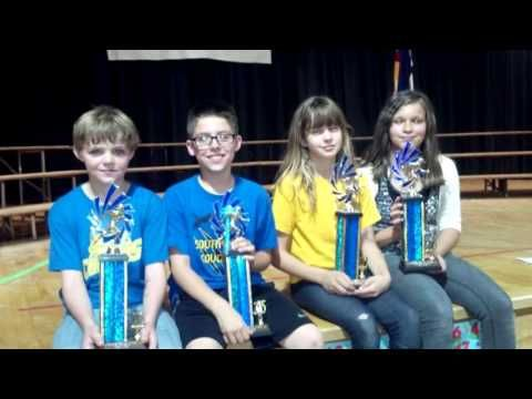 LOOK at this Awesome Video that South Park Elementary School in Pueblo, CO made about their Mileage Club - AND their 4 students are the current Girls AND Boys World Record Holders for Most Miles Run. They have a Challenge For YOU!