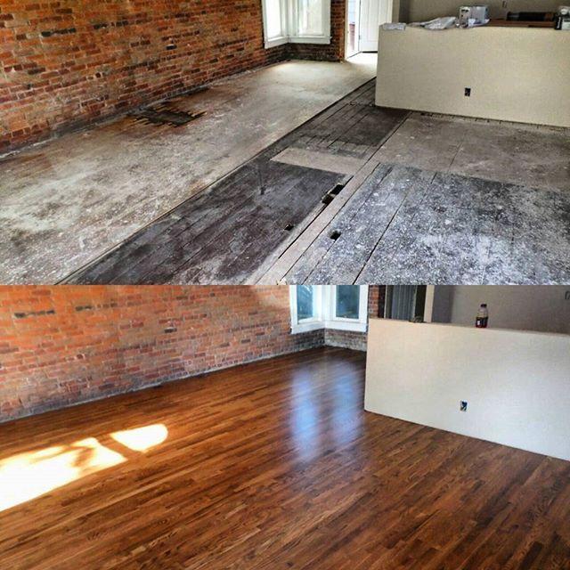 Restoration complete, Denver bungalow flip project.#redoak #hardwoodfloor #woodfloor #hardwood #naturalfloor #naturalstain #woodflooring #woodfloors #hardwoodfloors #flip #remodel #restoration  #woodfloor #woodworking #ccf