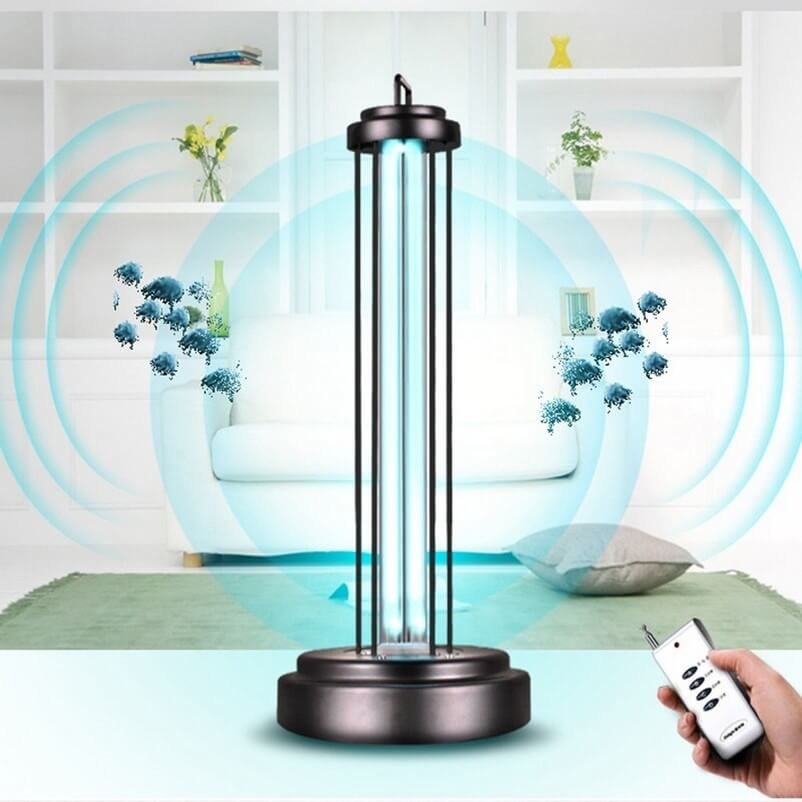 Medical Uv Disinfection Sterilizer Portable Ultraviolet 38w 254nm Uv Light Disinfectant In 2020 Bulb Lamp Halogen Bulbs