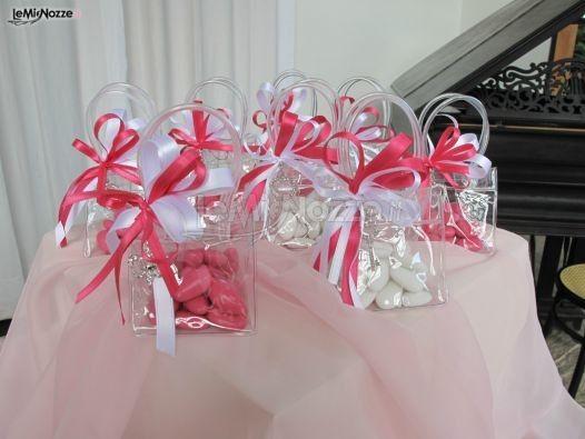 Borsettine porta confetti per le bomboniere matrimonio Party - confeti
