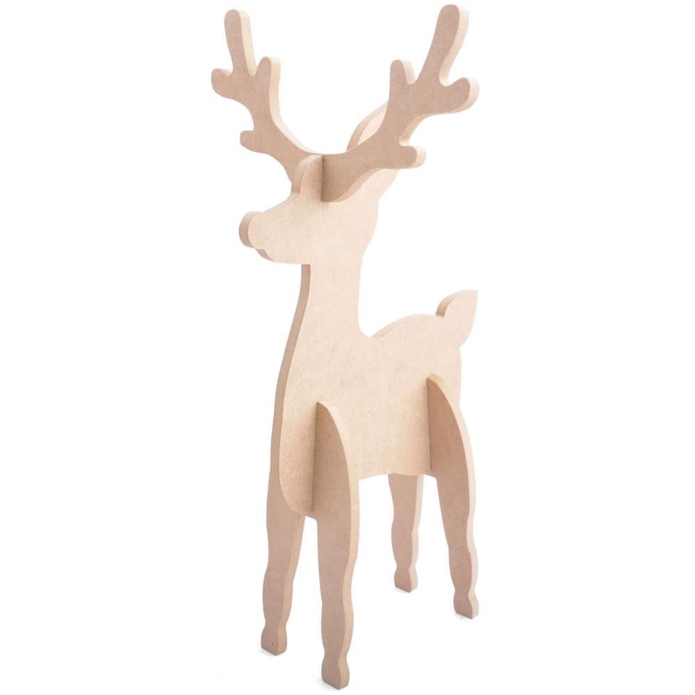Premium Mdf Craftwood Reindeer To Decorate Wooden Shapes For Crafts In Crafts Children S Crafts Ebay Crafts Arts Crafts Sewing Kaisercraft