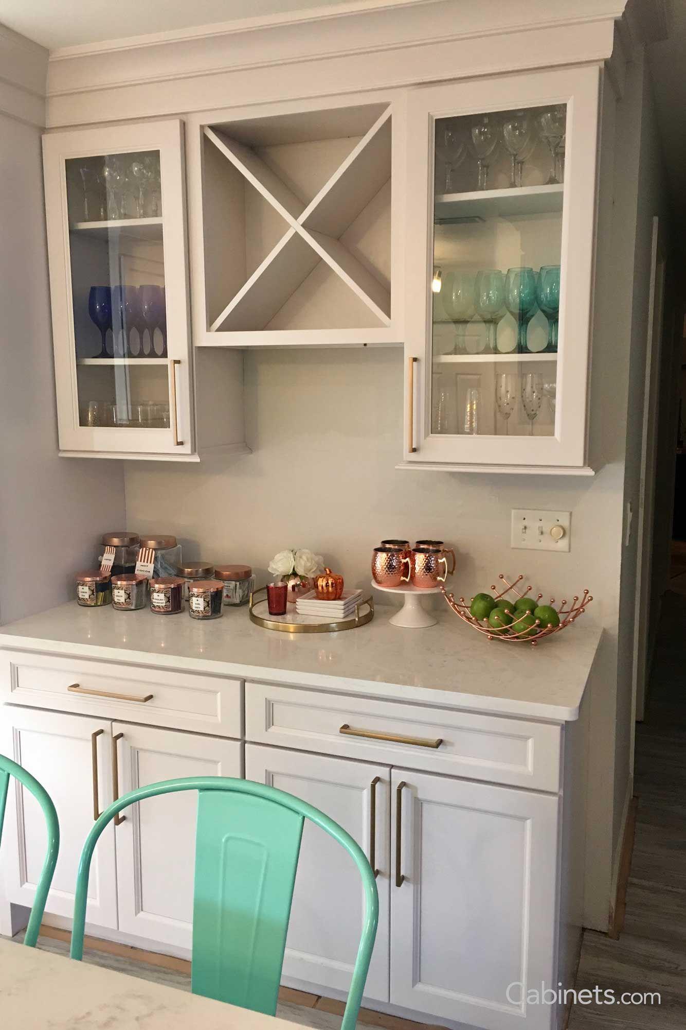 Naples RTA Maple White | Kitchen redo, Kitchen, Kitchen ...