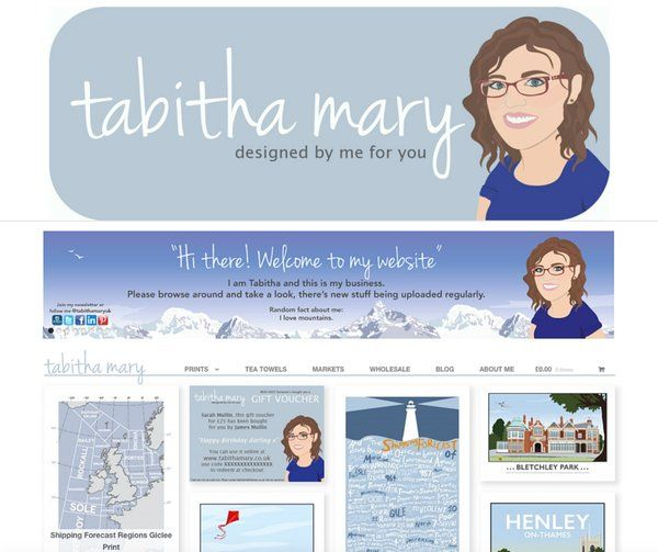 My shiny new website is LIVE http://www.tabithamary.co.uk