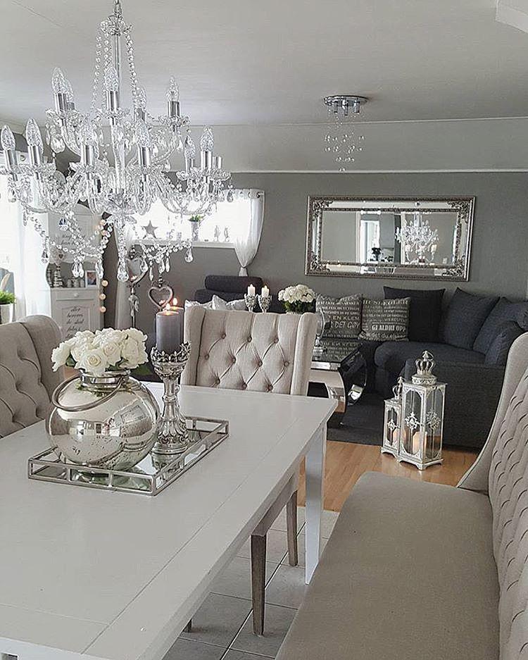"""Photo of Andrea Marie Håkenstad på Instagram: """"Så koselig og fin stue. Kreditt: @annetteshjem """""""