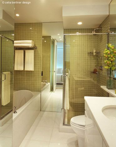 Full Bathroom Designs Glamorous Full Bathroom Renovationcelia Berliner Design Llc Celia Design Ideas