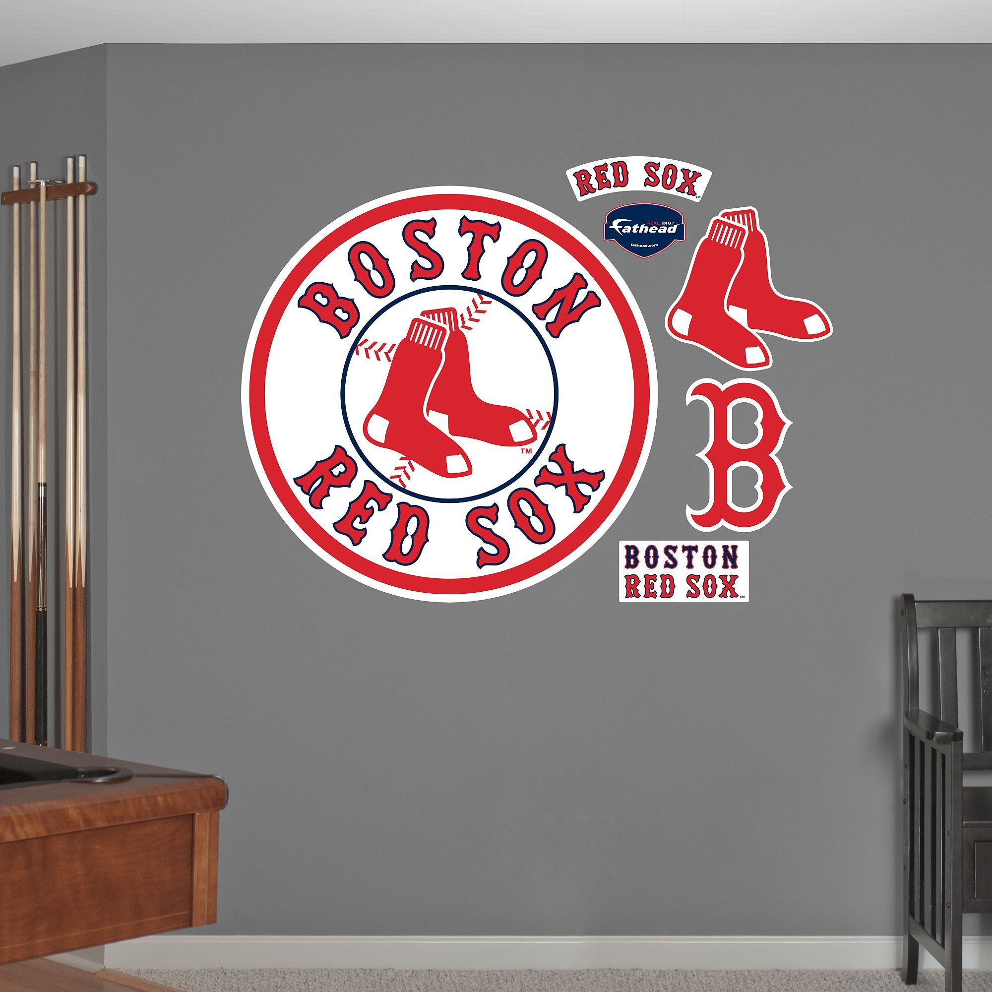 Li Title Boston Red Sox Circle Logo Li Li Materials Tear And