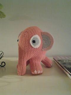 Krilles Kriblerier: hæklet elefant