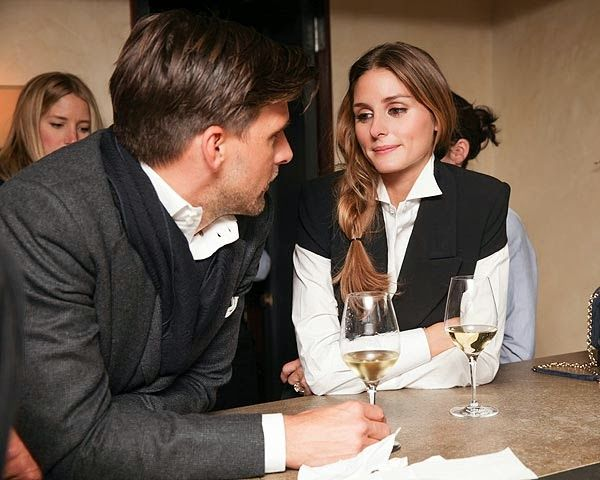 THE OLIVIA PALERMO LOOKBOOK: Olivia Palermo At the Notes On Creativity Exhibition in New York