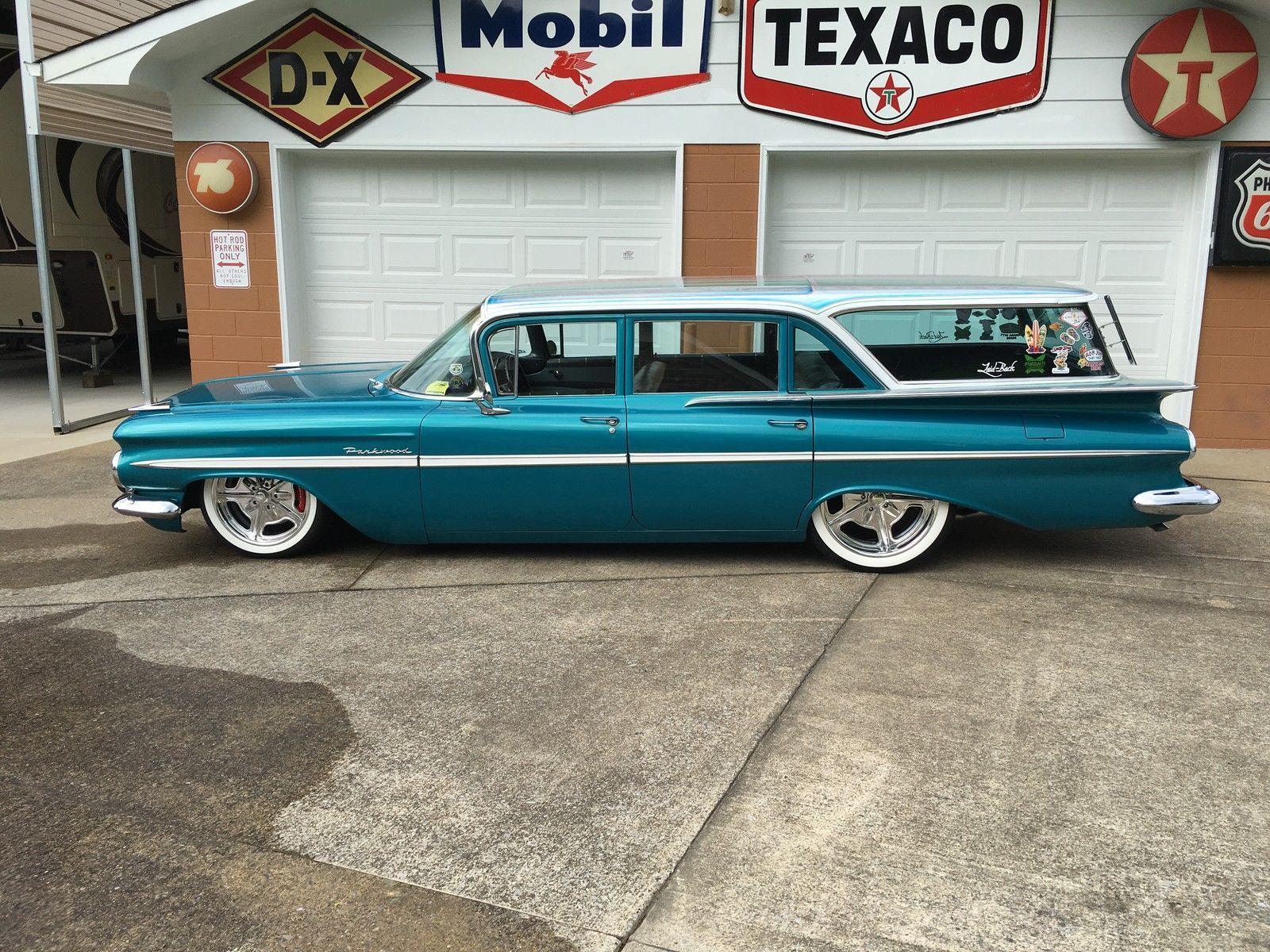 1959 chevrolet parkwood station wagon
