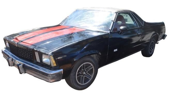 We Couldn T Help But Notice That The Last Car Featured In The Breaking Bad Series Finale Was This 1978 Chevrolet El Camino Car Features Chevrolet El Camino Car
