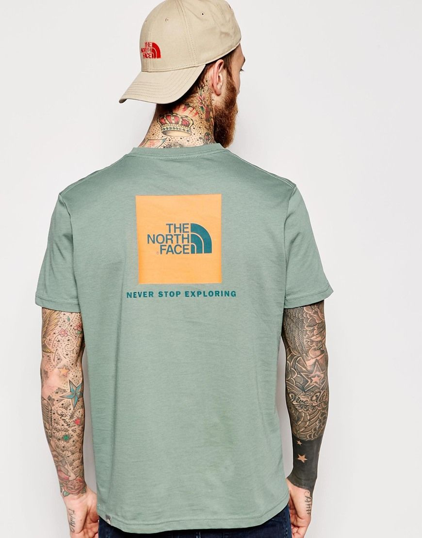 The North Face T-Shirt with Box Logo