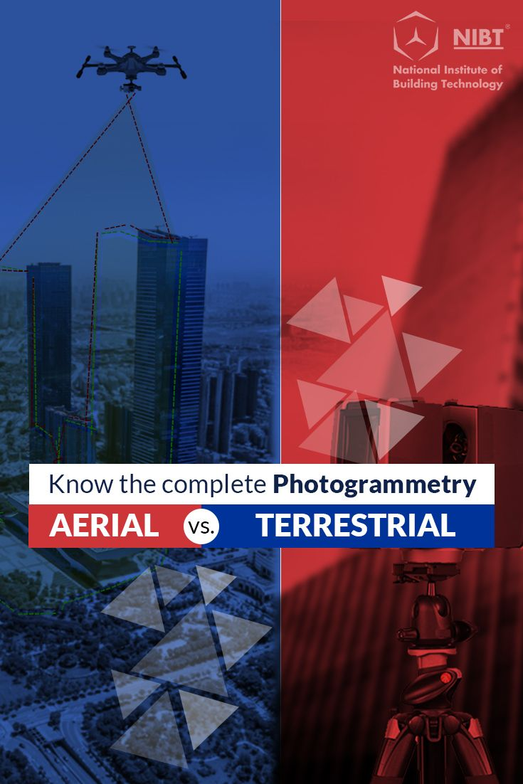 Difference Between Aerial Photogrammetry Terrestrial