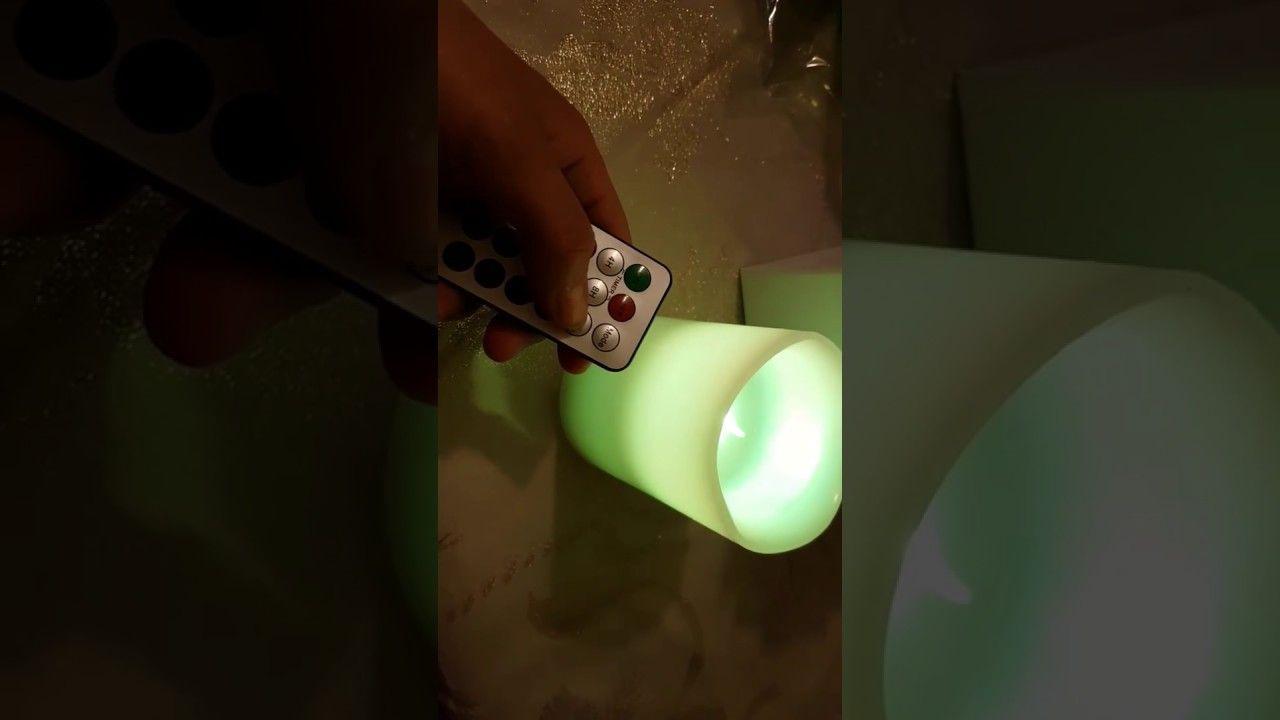 ICOCO Candela LED senza fiamma con Telecomando Timer