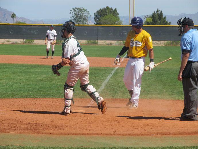 Scc Baseball Double Header Against Eastern Az 3 22 2014 Mike Gordner Catcher College Athletics Baseball Community College