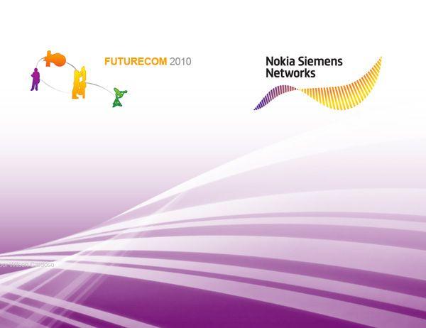 Nokia Siemens Networks Mobile site, tablet e blog para Futurecom 2010