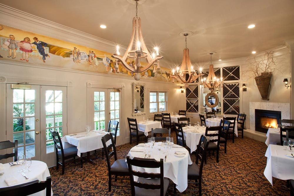 Farmhouse Inn combines the warmth and hospitality of a