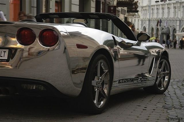Corvette C6 Chromed Convertible