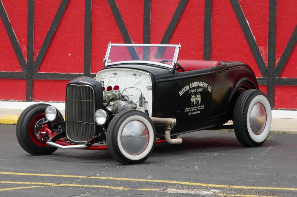 Used 1932 Ford Roadster PRICE DROP-HI BOY-FAMOUS MOONEYES-CALIFORNIA ...