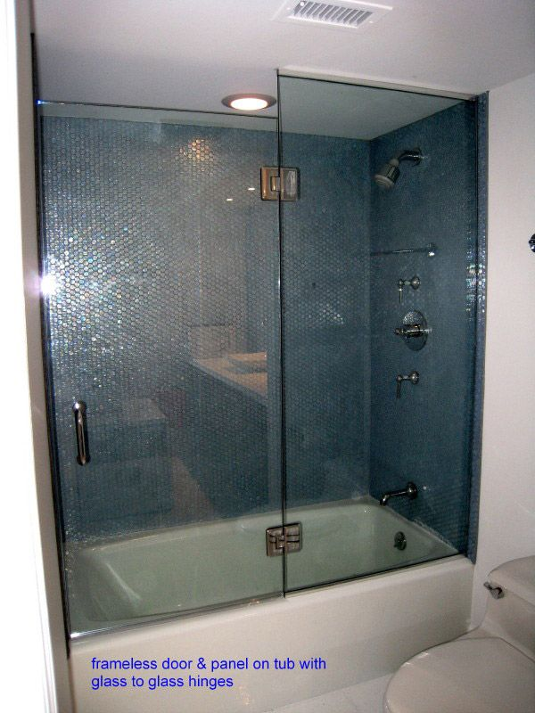 glass tub shower door For Your Home - Minimalist trackless shower doors Review