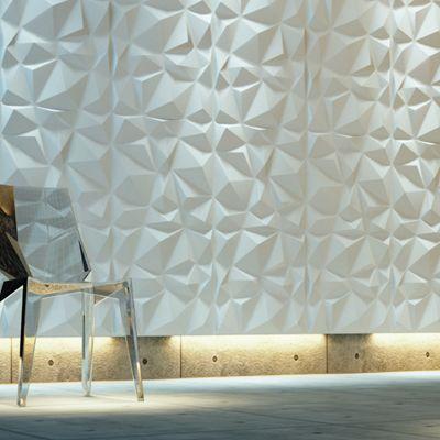 3d Wall Dimensional Wall Decorative Art Panels Tiles Simple