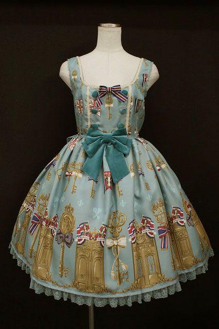 Angelic Pretty / Luck Of The Key Jumper Skirt   Closet Child Online Shop