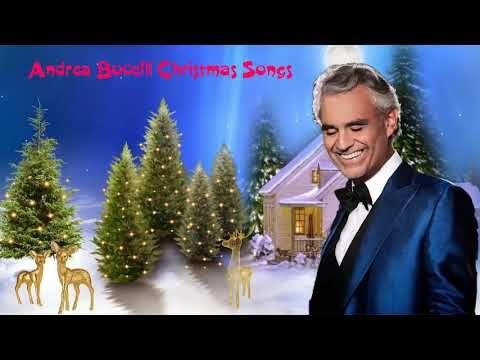 2019 Christmas Music.Andrea Bocelli Christmas Songs 2019 Andrea Bocelli