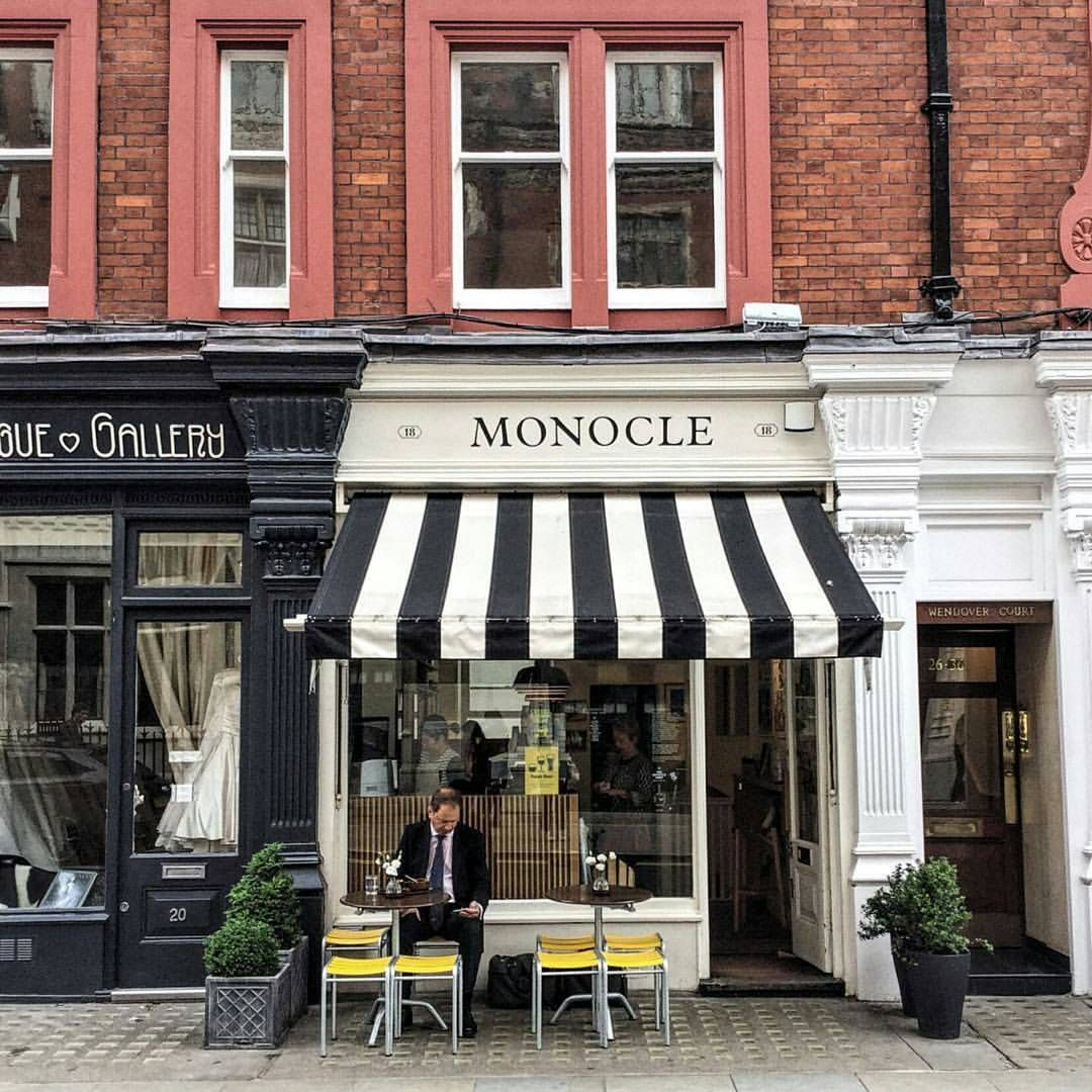 Store Front Collective On Instagram Monocle Cafe London Tag A Friend Who Would Love This Photo In 2020 Monocle Cafe London Fields London Coffee Shop