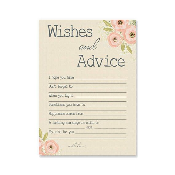 Funny Kitchen Art Funny Wedding Sign Instant Download Tea: Wishes For Bridal Shower Printable