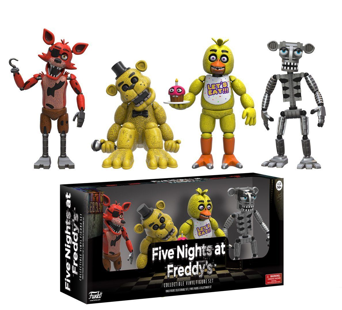 Five Nights at Freddy/'s Sister Location Hero World 5 Pack FunKo Free Shippi