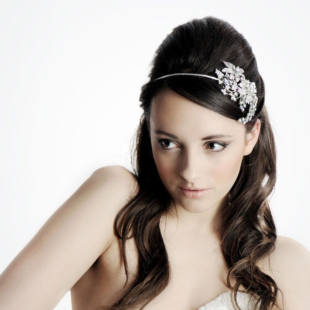 Stella side tiara headband | You make me wanna say I do! | Pinterest ...