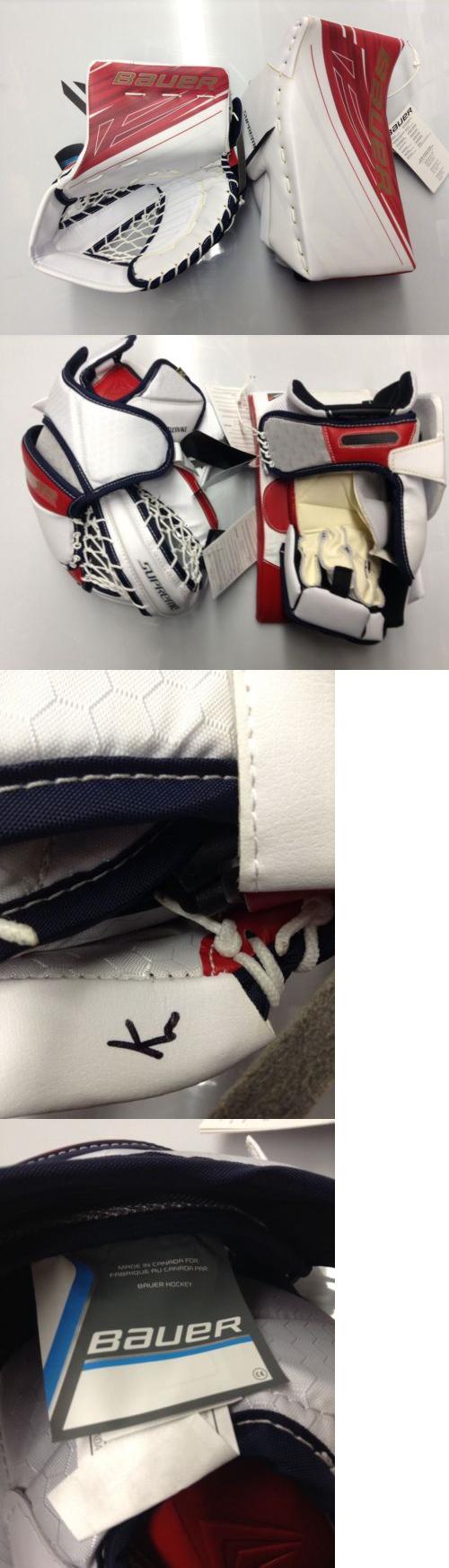 Gloves 20853: Bauer Supreme 1S Goalie Catcher And Blocker