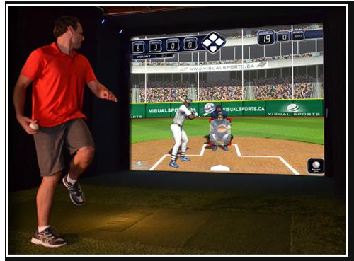 Interactive Baseball Simulator for kids Golf simulator