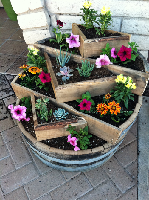 Whiskey Barrel Planter   Here Is Your Newest Project @Toni Weyandt .