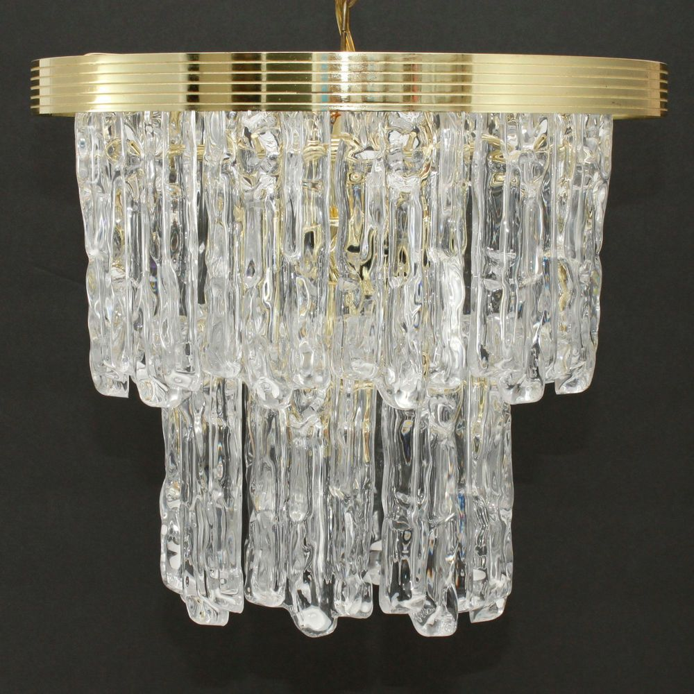 lucite lightolier chandelier vintage pin style dramatic