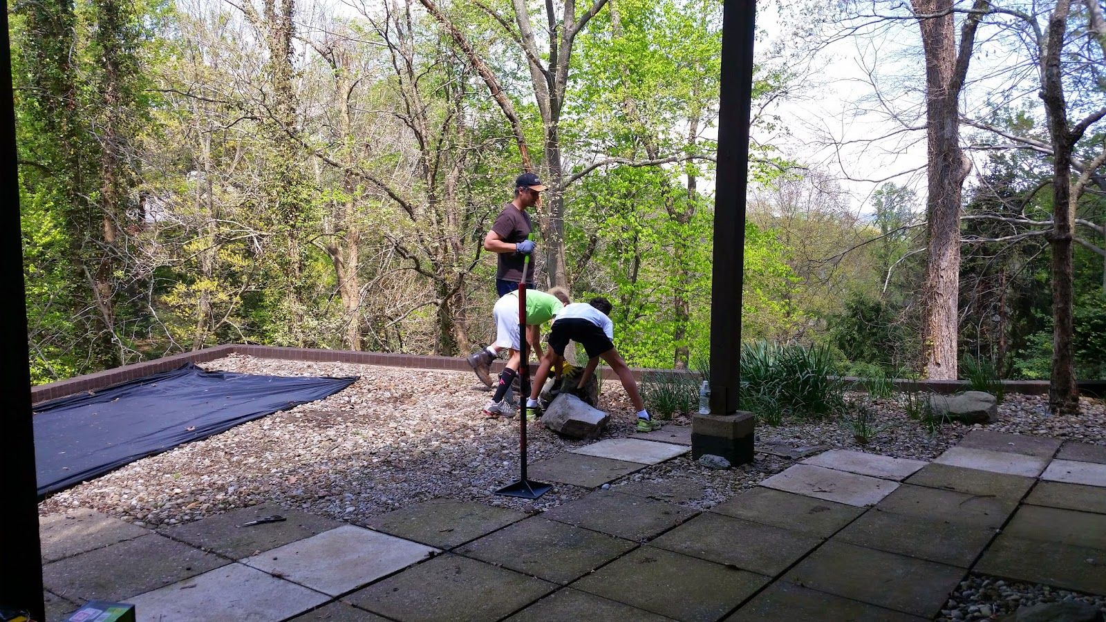 The Unexpected Home-Maker: Pea Gravel