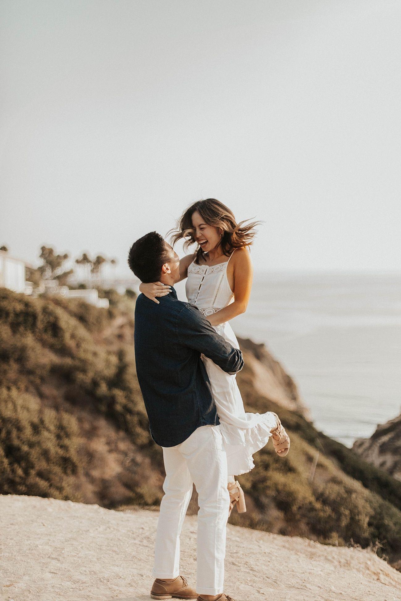 Beach wedding pre shoot  la jolla trails engagement la jolla photography la jolla couple