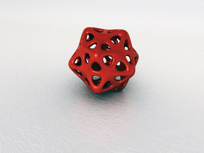Dodecahedron – free 3D model ready for 3D Printing  Available