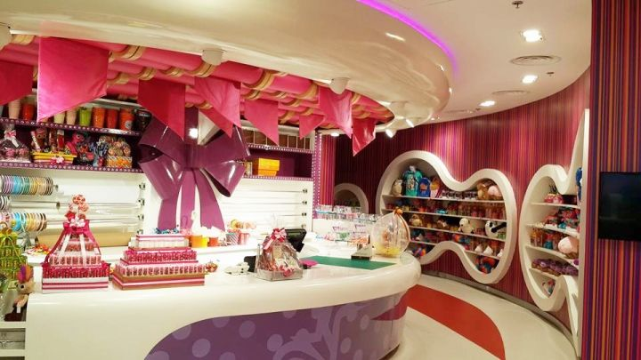 Candylawa Candy Store By Red Design Group Riyadh Saudi Arabia Ice