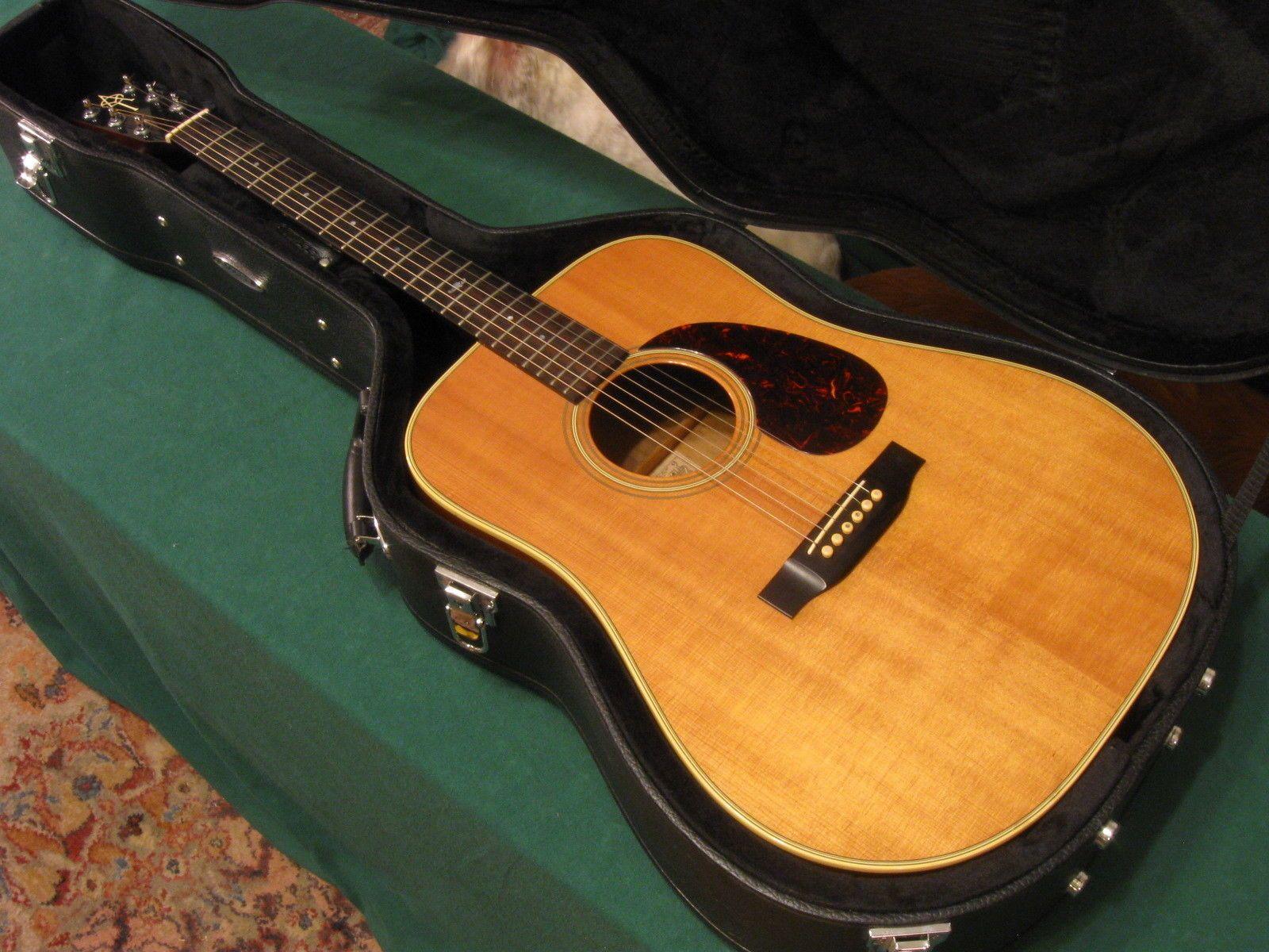 Vintage 1983 Alvarez Yairi DY 48 Acoustic Guitar Kazuo Yairi K w Hard Case