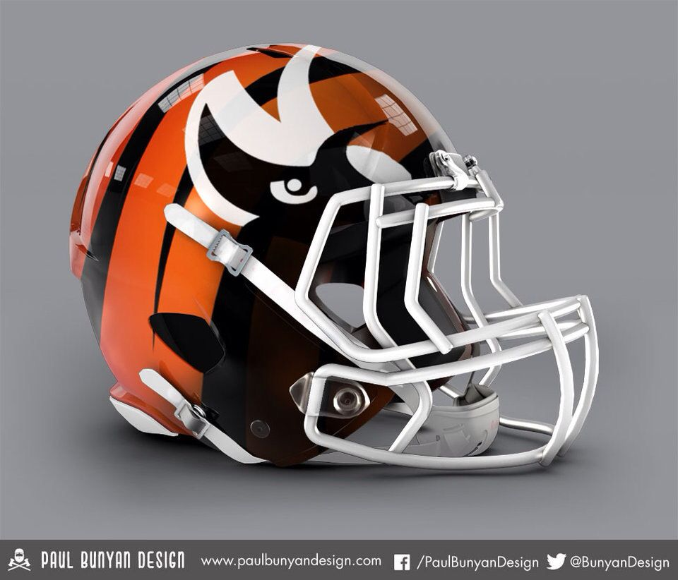 Bengals concept really like this helmet nfl football