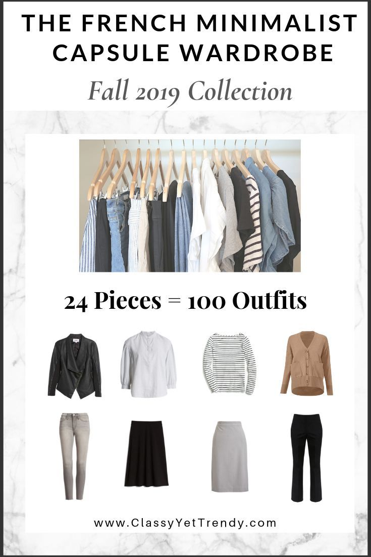 the french minimalist capsule wardrobe fall 2019 on extraordinary clever minimalist wardrobe ideas id=38621