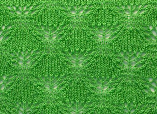 Blattmuster | Lace tücher | Pinterest | Strickmuster und Tücher
