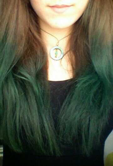 Green ombre hair | Things I love | Pinterest | Ombre hair ...