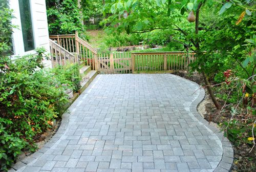 DIY: How To Install A Patio   All The Info You Need To Install Patio Pavers,  Including How To Measure And Cut Them   Young House Love
