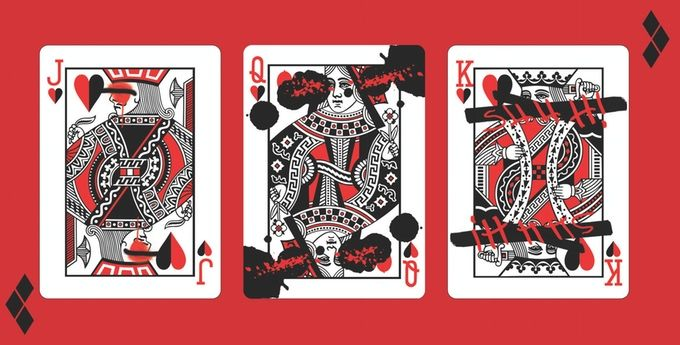 Quinzel Playing Cards by Fancy King Playing Cards — Kickstarter (unsuccessful campaign)