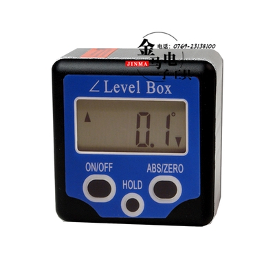 32.25$  Watch more here - http://aijoq.worlditems.win/all/product.php?id=32676233633 - Mini Digital Protractor level Box - Blue level meter