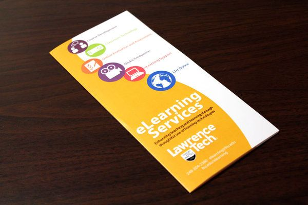 Elearning Services Brochure By Rachel Cronover Via Behance