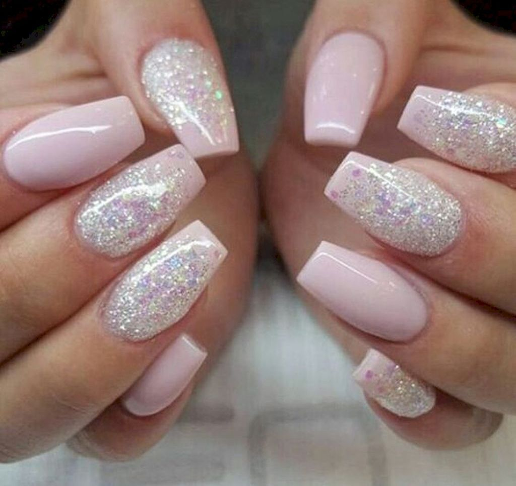 13 New Acrylic Nail Designs Ideas To Try This Year Glitter Nail