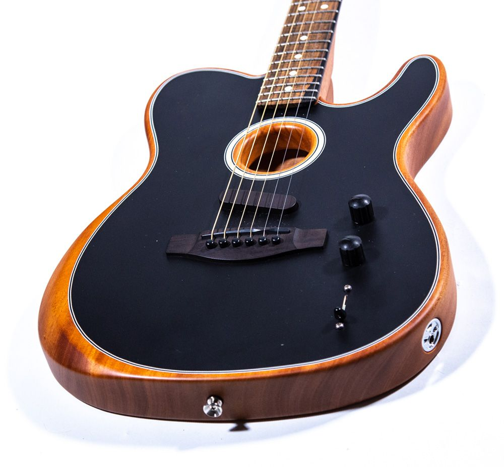 Video Hear Fender S Groundbreaking Acoustasonic Telecaster Hybrid Fender Acoustic Guitar Fender Acoustic Guitar Design
