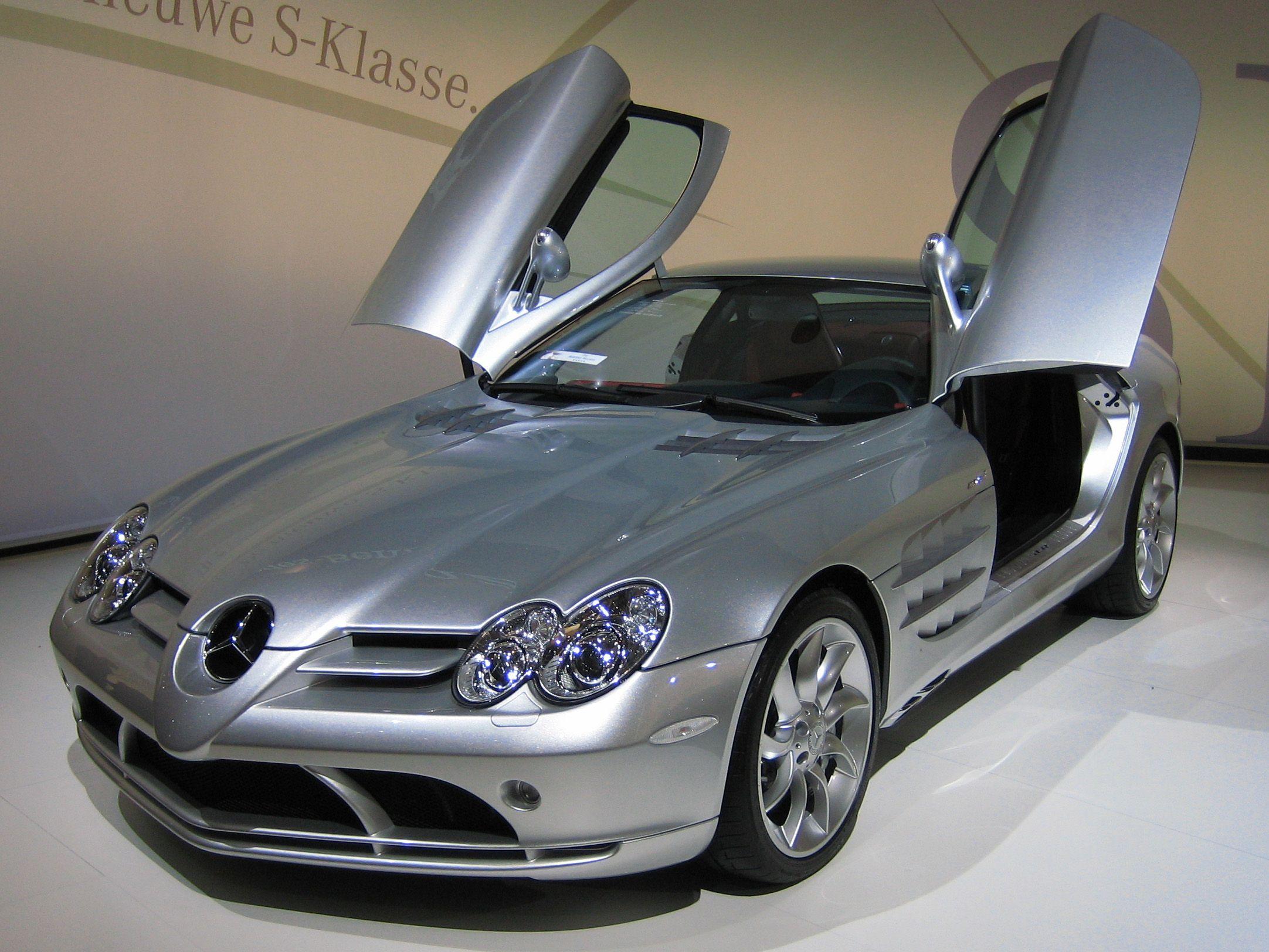 Mercedes benz mclaren megapost imagenes